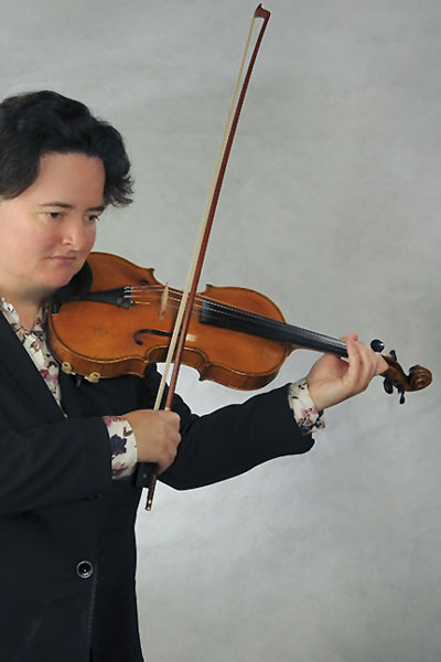 Geigenlehrerin Cornelie Rosenberger München Isarvorstadt